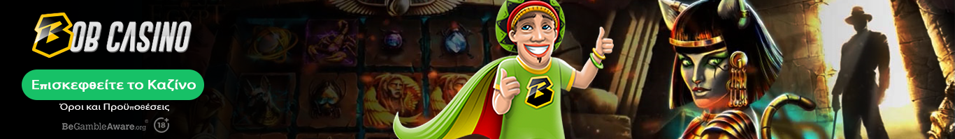 Bob casino banner