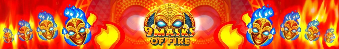 9 Masks Of Fire Banner