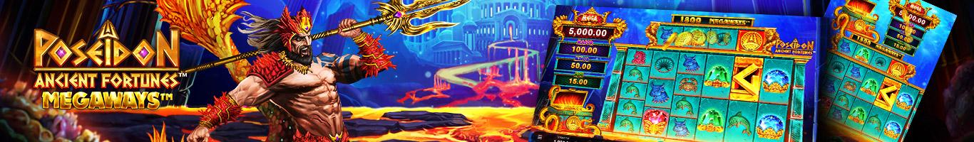 Ancient Fortunes Poseidon Megaways Banner