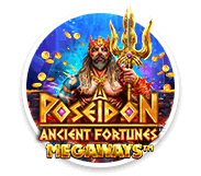 Ancient Fortunes Poseidon Megaways Logo