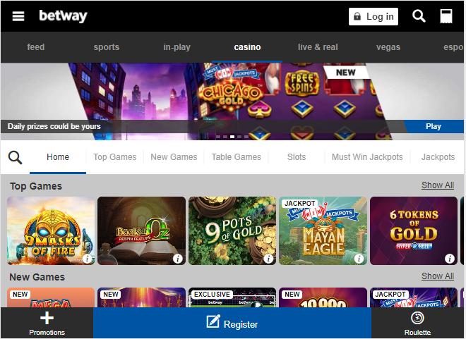 Betway Casino Image 1
