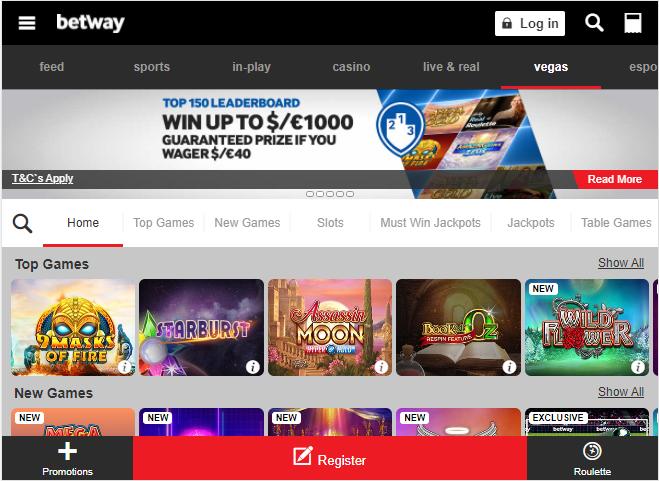 Betway Casino Image 3