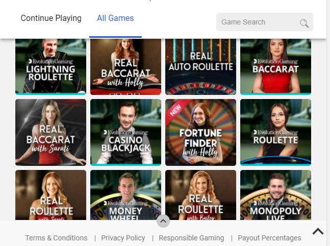 Spin Casino Image 2