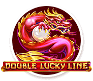 Double lucky line logo