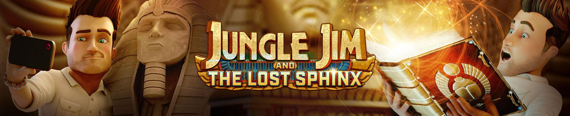 Jungle Jim The Lost Sphinx Banner