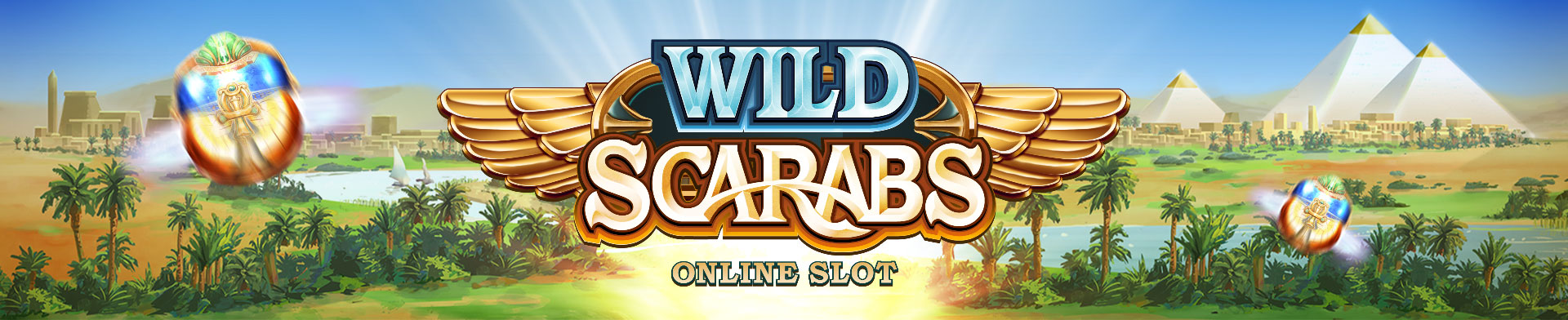 Wild scarabs banners