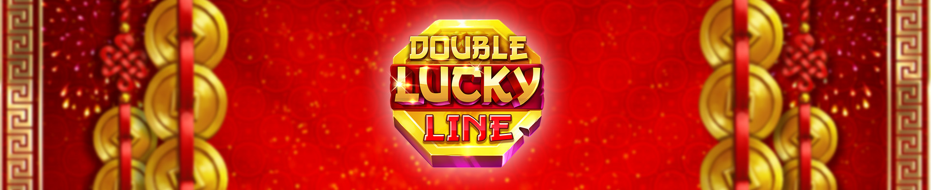 Double lucky line banner