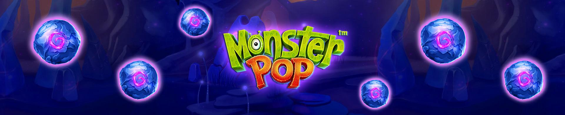 Monster pop banner