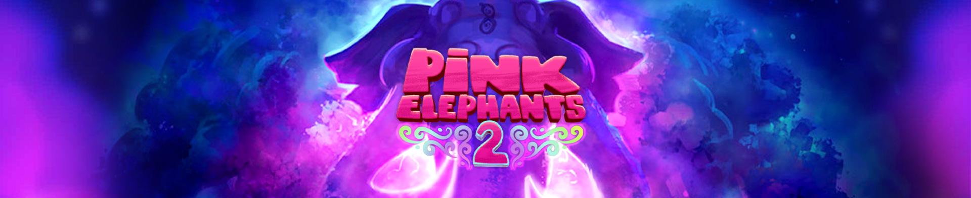 Pink Elephants 2 banner